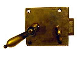 Door lock, chamber lock, E A Stenman (19th C).