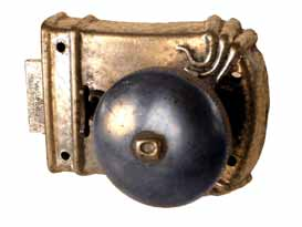 Door lock, chamber lock, E A Næsman (19th c.).