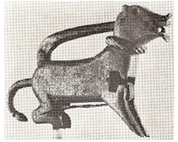 Padlock from Seljuk, Iran, 12th C