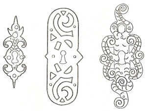 Escutcheons from the Early Vasa Era.